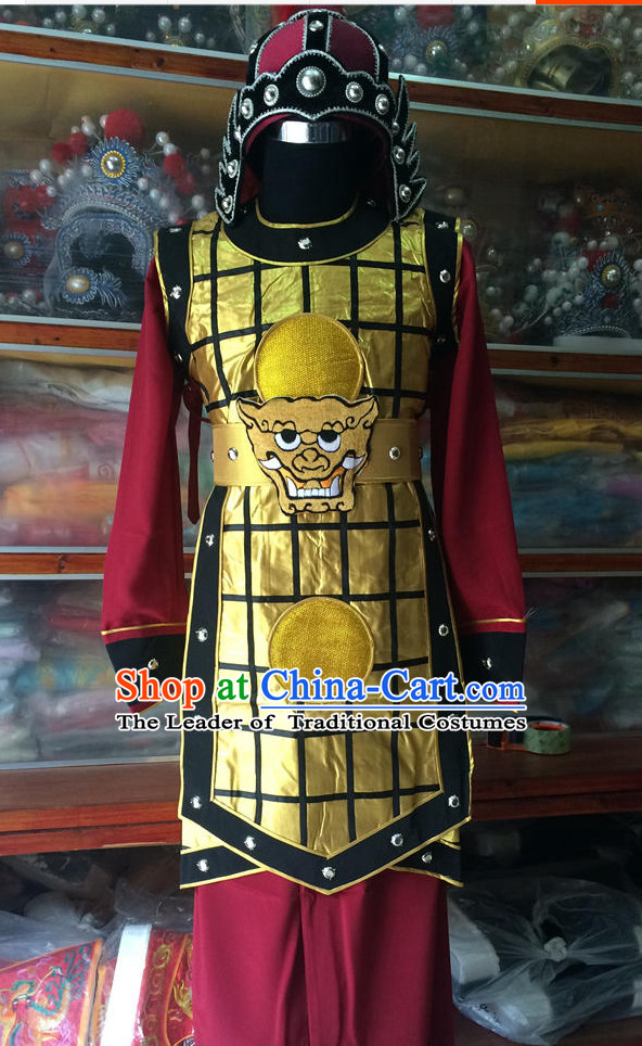Chinese Opera General Warrior Clothes Dress China Costumes for Men