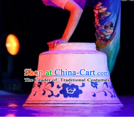 Giant Bowl Chinese Stage Performance Dance Props Stage Design Prop