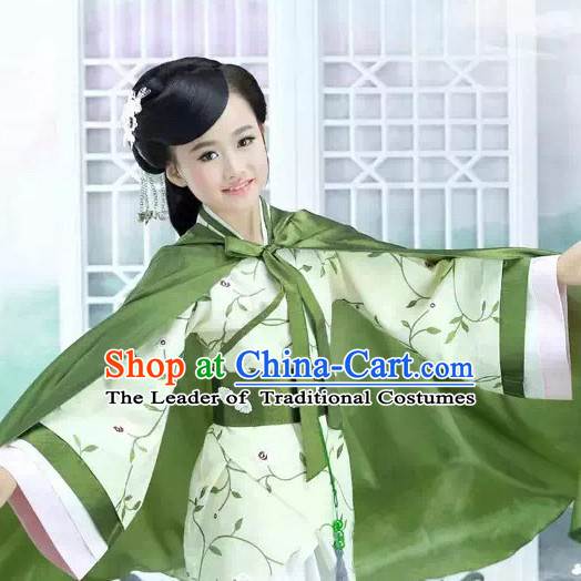 Han Dynasty Chinese Princess Costume Ancient China Ethnic Costumes Han Fu Dress Wear Outfits Suits Clothing for Kids