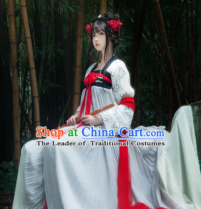 Asian Fashion Chinese Ancient Dynasty Princess Clothes Costume China online Shopping Traditional Costumes Dress Wholesale Culture Clothing and Hair Jewelry for Women