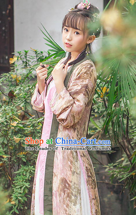 Asian Fashion Chinese Ancient Song Dynasty Princess Clothes Costume China online Shopping Traditional Costumes Dress Wholesale Culture Clothing and Hair Jewelry for Women