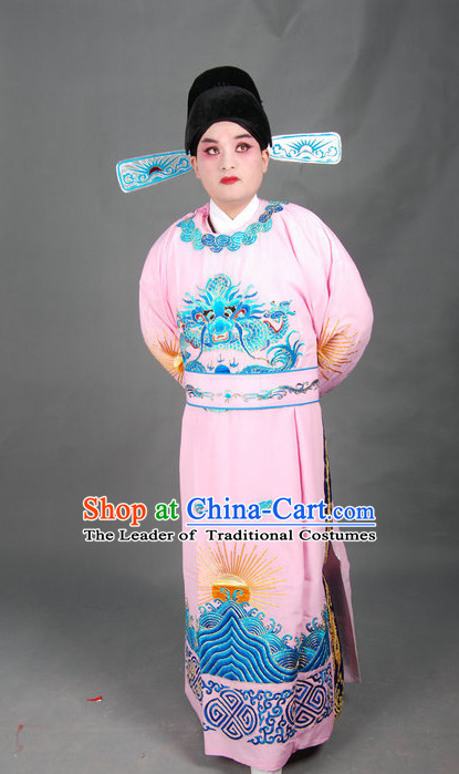 Chinese Opera Costumes Beijing Opera Costume Peking Stage Dress Official Dragon Robe Complete Set