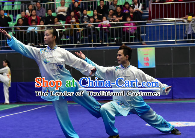 Tai Chi Martial Arts Supplies Wing Chun Dummy Chi Gong Qi Gong Kung Fu Kungfu Uniform Clothing Costume Suits Uniforms for Men and Boys