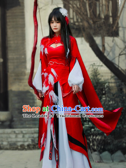 Chinese Costume Ancient China Dress Classic Garment Suits Fairy Cosplay Clothes Clothing Complete Set for Women