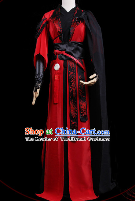 Chinese Costume Ancient China Dress Classic Garment Suits Emperor Clothes Clothing for Men