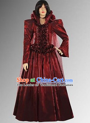 Traditional Medieval Costume Renaissance Costumes Historic Empress Clothing Complete Set for Women