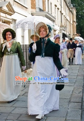 Traditional UK English Lady Costume online Adult Costume Carnival Ladies Costumes for Women and Girls