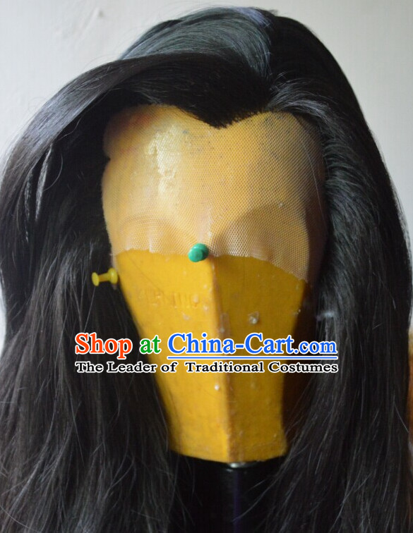 Ancient Chinese Long Wigs For Men Male Wigs Afro Wigs Hair