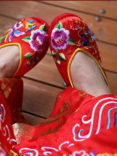 Chinese Handmade Cloth Shoes