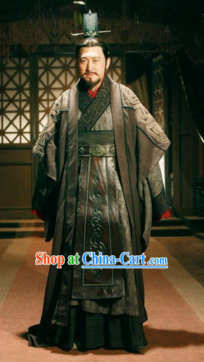 China Ancient Prime Minister Costumes for Men