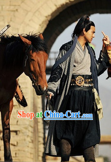Ancient Chinese Warrior Costume Complete Set