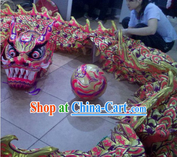 NEW Chinese Spring Festival Parade and International Competition Dragon Dance Costumes Complete Set