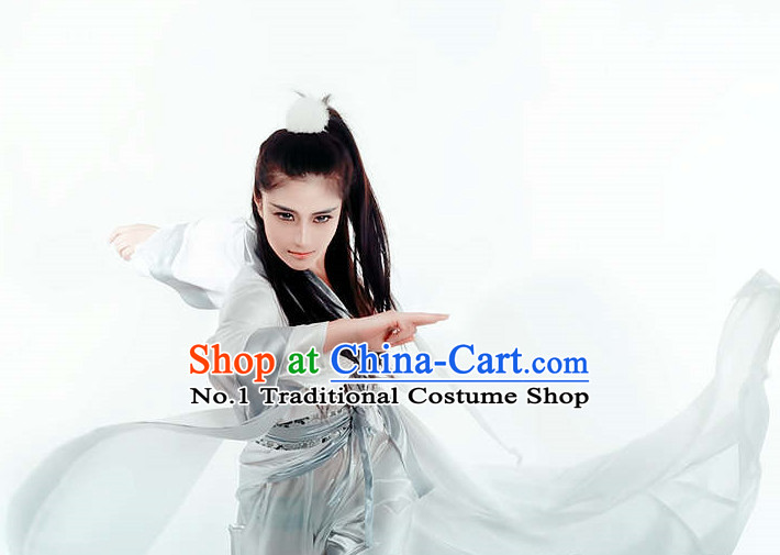 Asian China Ghazi Costumes Complete Set for Men