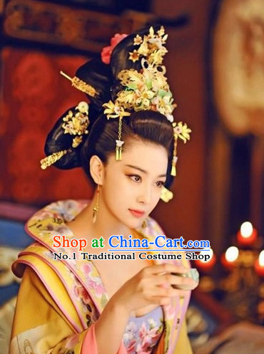 Ancient Chinese Tang Dynasty Empress Hair Accessory Full Set