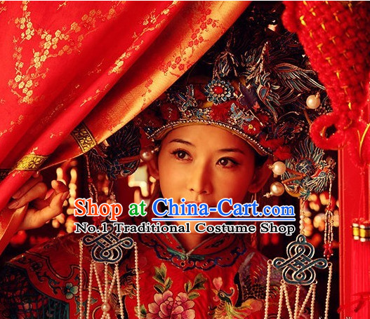 Chinese Ancient Wedding Phoenix Crown