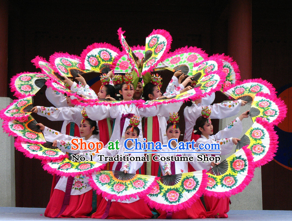 Korean Traditional Folk Dance Costumes for Girls