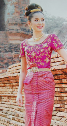 Formal Thai National Costume