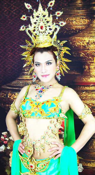Formal Thai Stage Performance Costumes