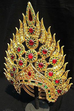 Traditional Thai Headpieces