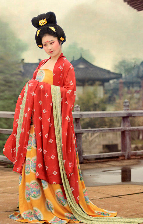 China Tang Princess Costumes Carnival Costumes Dance Costumes Traditional Costumes for Women