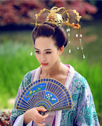 Tang Dynasty Imperial Palace Princess Headpieces