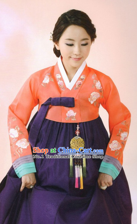 Korean Custom Made Hanbok Outfit for Women