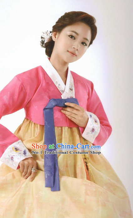 Korean Folk Dress online Traditional Costumes National Costumes for Women