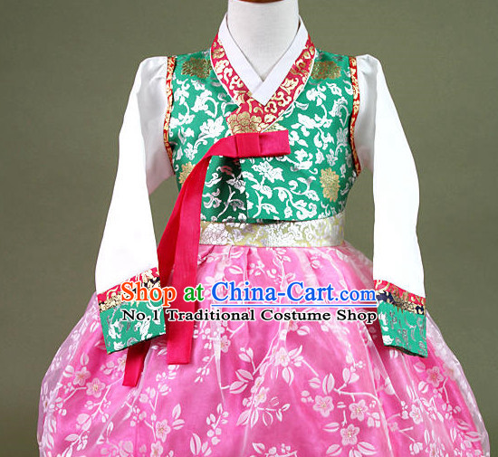Korean Halloween Hanbok Costumes for Children