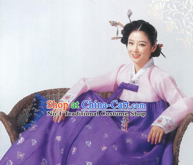 Top Korean Folk Dress online Traditional Costumes National Costumes for Girls