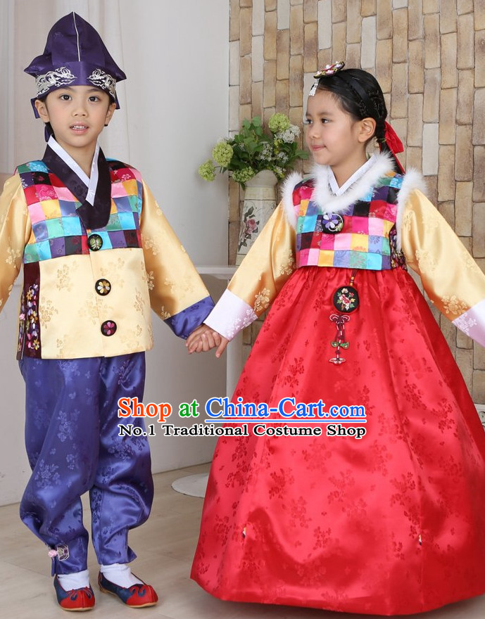 Top Traditional Korean Kids Fashion Kids Apparel Birthday Baby Clothes Boys Clothes Girls Clothing