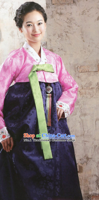 Top Korean Traditional Hanbok Outfit Complete Set for Women