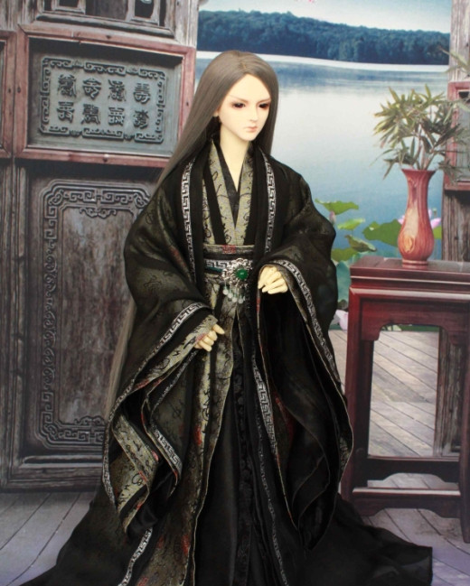Asian Chinese Halloween Costumes for Wise Men