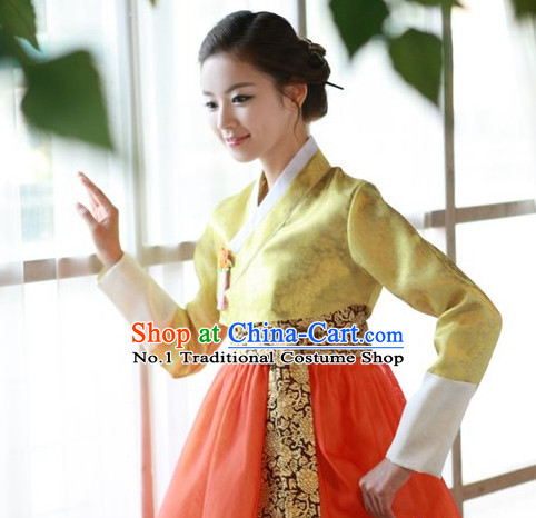 Top Korean Ladies Official Reception Clothing Complete Set