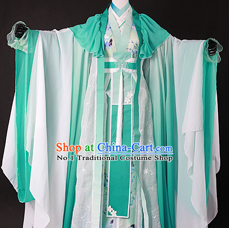 Chinese Empress Hanfu Cosplay Halloween Costumes Carnival Costumes for Women