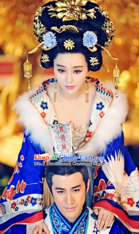 Chinese Traditional Style Female Empress Hair Jewelry
