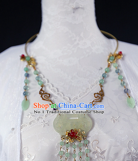 Chinese Traditional Jade Necklace
