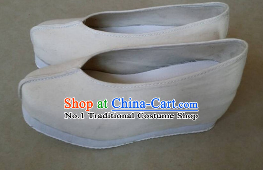 Handmade Chinese Traditional Ladies Fabric Shoes Footwear