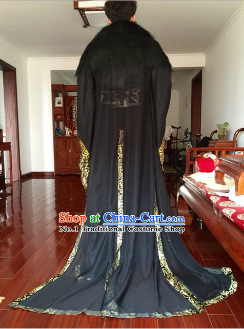 Asia Fashion Ancient China Culture Chinese Black Childe Costumes