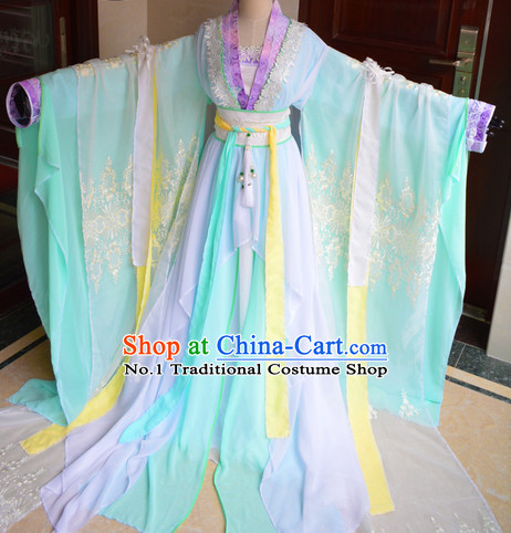 Chinese Traditional Princess Dress Complete Set
