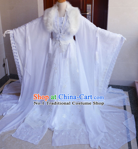 Chinese Ancient Romantic Wedding Dresses Clothing Complete Set