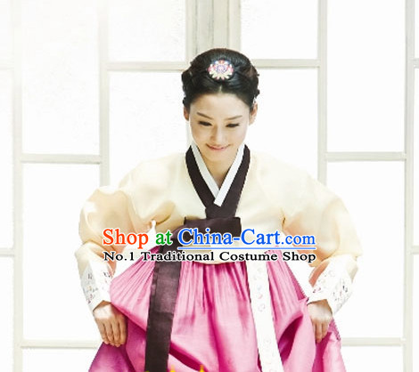 Korean Traditional Costumes Complete Set for Women