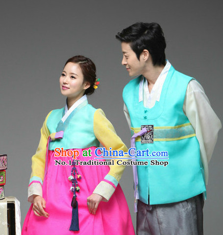 Korean Couple National Costumes Traditional Costumes Hanbok Korea online Shopping