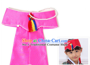 Korean Traditional Hat Hair Accessories for Girls and Women
