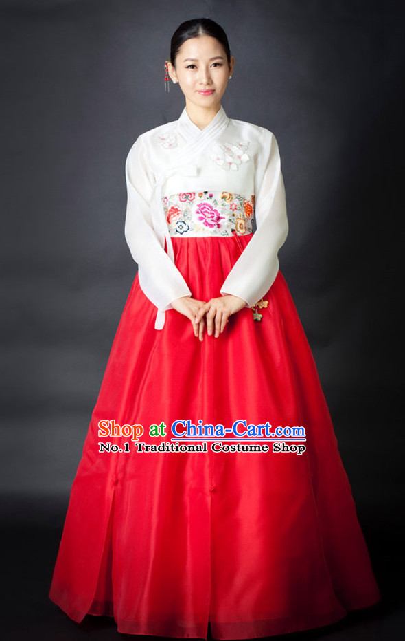 Korean National Dress Costumes online Clothes Shopping Complete Set