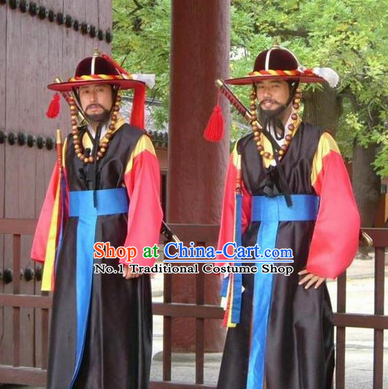 Korean Bodyguard Costumes National Dress Costumes online Clothes Shopping Complete Set for Men