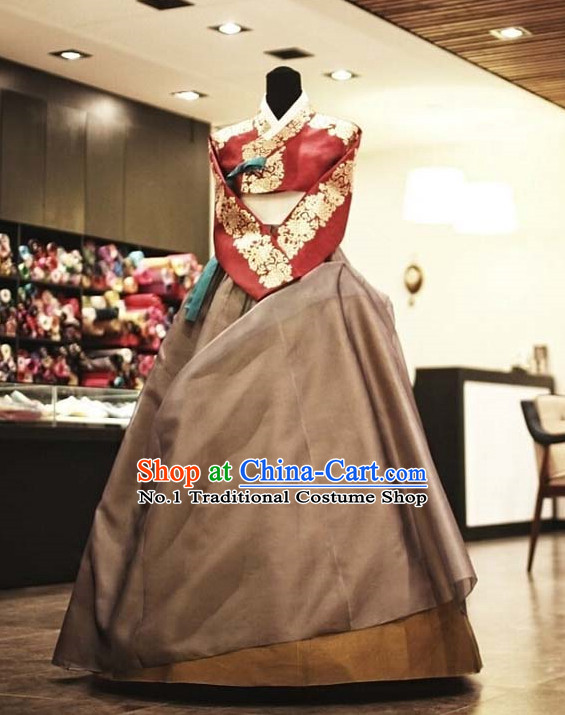 Korean Female National Dress Costumes online Clothes Shopping Complete Set