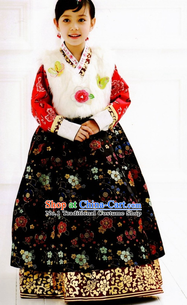 Korean Children Hanbok Fashion online Apparel Hanbok Costumes Dresses