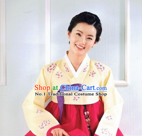 Korean Hanbok Costume Ladies Fashion Clothes Korean Traditional Dress