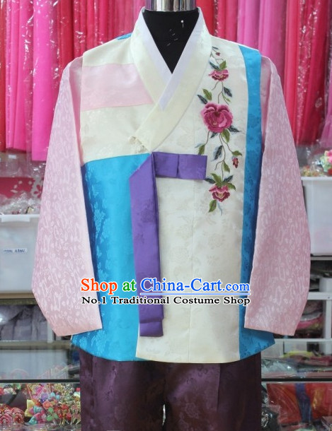 Korean Bridegroom Traditional Clothes Hanbok Dress Shopping Free Delivery Worldwide