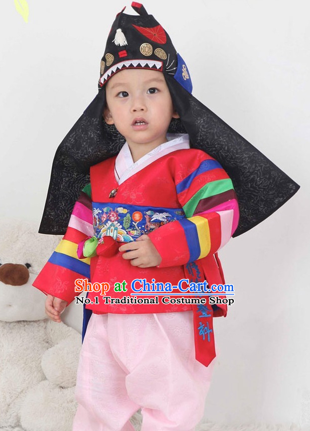 Korean Infants National Costumes Traditional Hanbok Clothes online Shopping